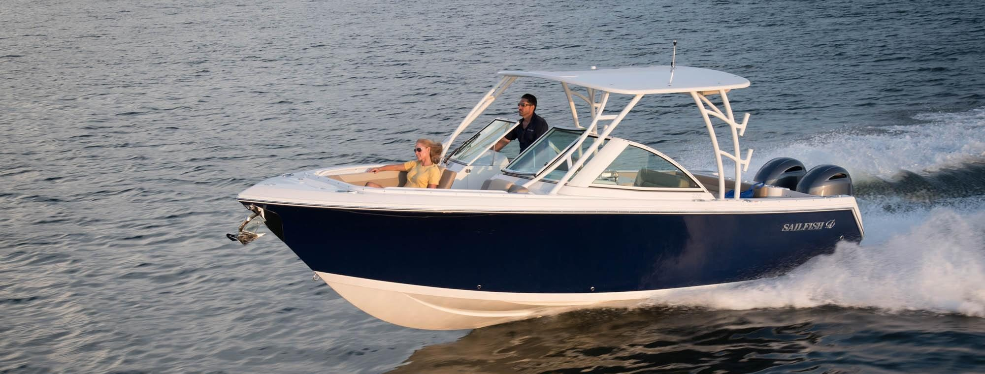 Sailfish Boats 275